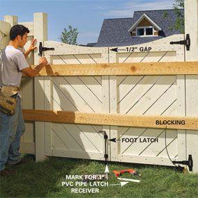DIY...building a new gate