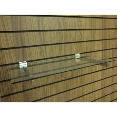 Toughened Glass Display Shelves