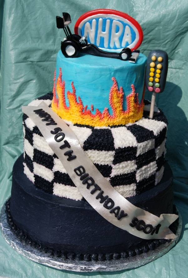 Matt's future birthday cake NHRA