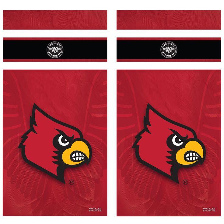 Louisville cardinals shield decal louisville cardinals