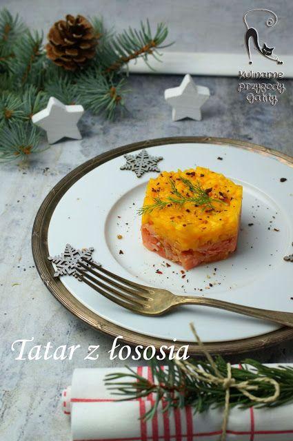 Kulinarne przygody Gatity - przepisy pełne smaku: Tatar z łososia z mango