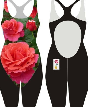 """Alexander's Issie""was named by fashion designer Alexander McQueen in memory of his best friend and mentor, Isabella Blow. The rose was specially selected by the British fashion designer Alexander McQueen , before his untimely death, to honour his mentor, the late Isabella Blow. Swimsuits available in Openback and Kneesuit and Beach Towel."