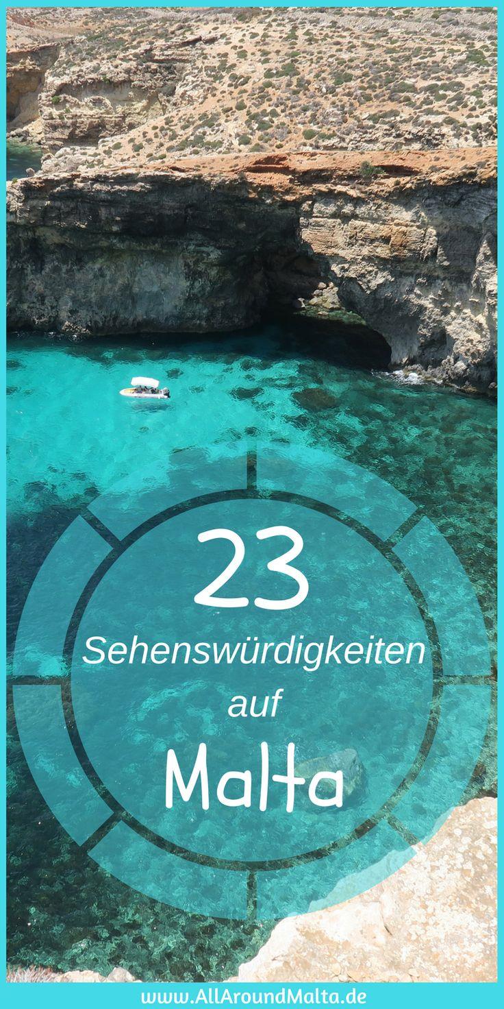 Sehenswürdigkeiten die Du Dir auf jeden Fall für eine Reise nach Malta merken musst! https://www.allaroundmalta.de/sehenswuerdigkeiten-malta/