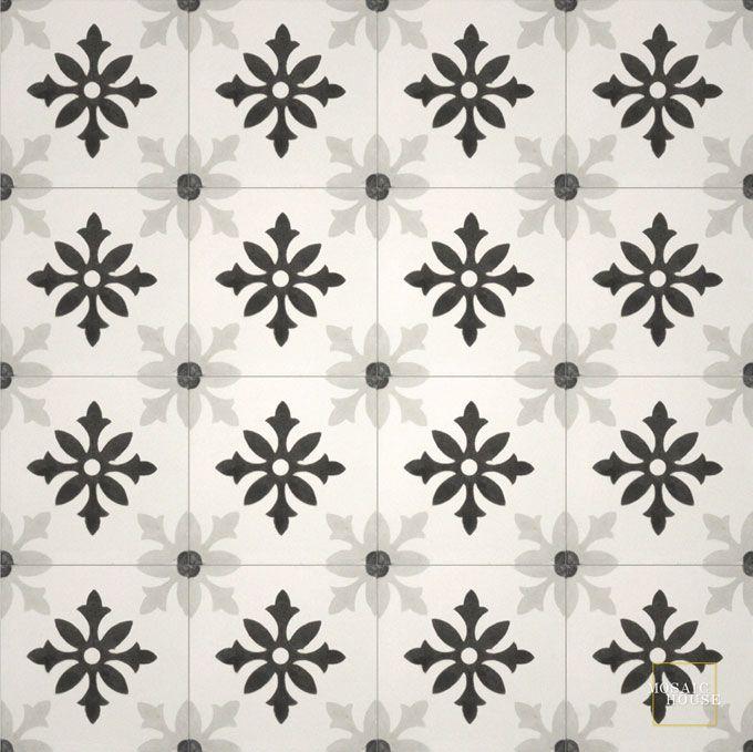 Little Carlow C14-4-24 - moroccan cement tile