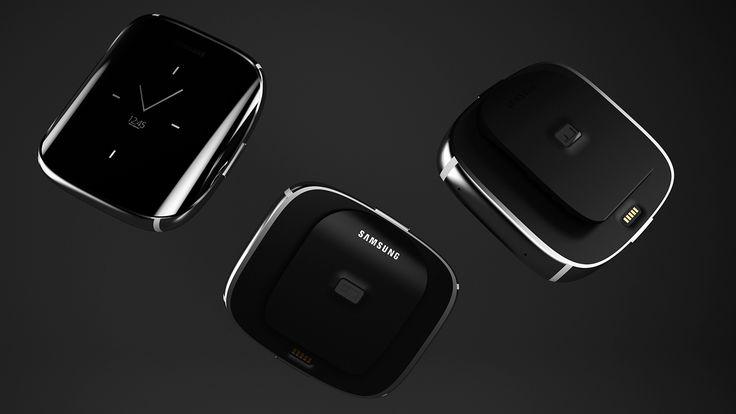 Samsung Galaxy Gear Edge on Behance
