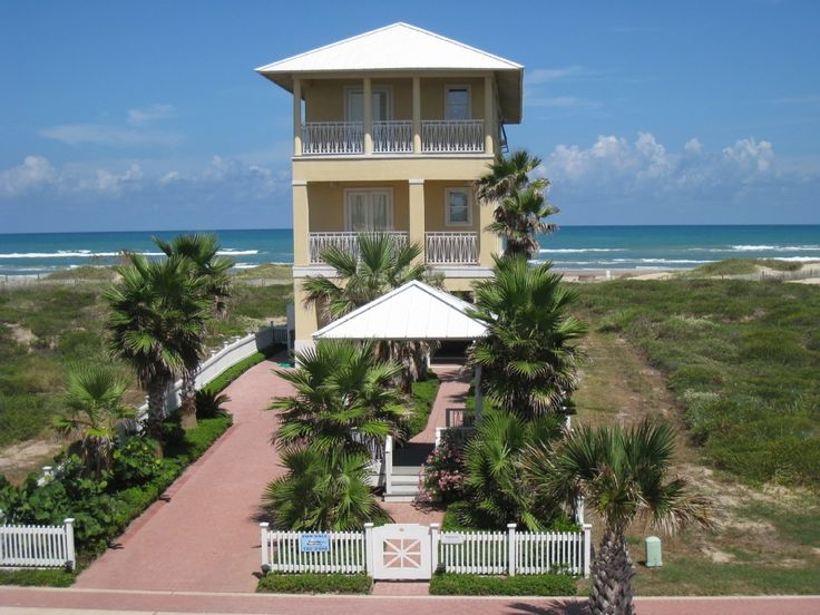 Private Homes Vacation Rental Vrbo 482916 3 Br South Padre Island House In Tx Beautiful