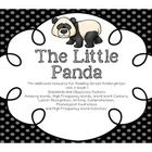 The Little Panda: This creation is designed to be used in addition to Reading Street Kindergarten Unit 3 Week 1. Download the preview to see an overview of the entir...