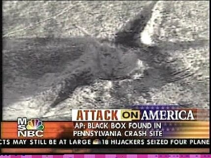 9/11 Pennsylvania Crash Bodies | ... show the crater made by the impact of Flight 93 in Shanksville PA