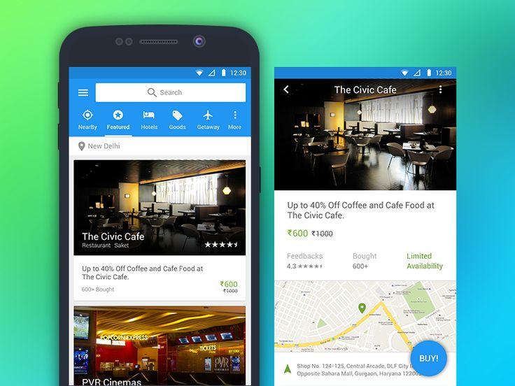 Android Meterial Design App