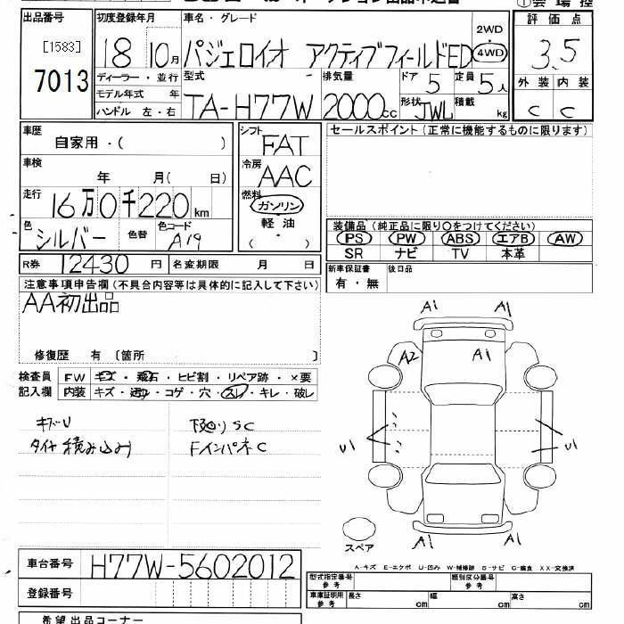 Autoweb Direct - JU Miyagi - Lot No.7013