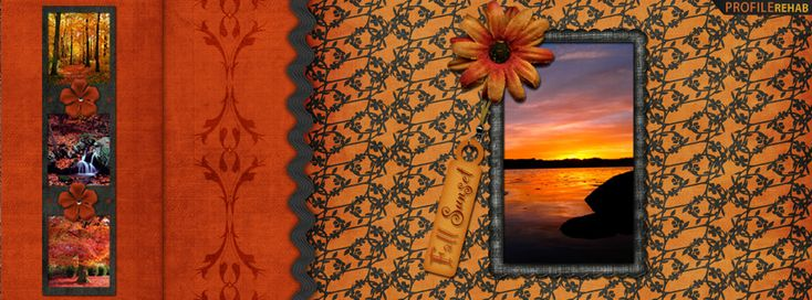 Fall Sunset Facebook Cover Preview