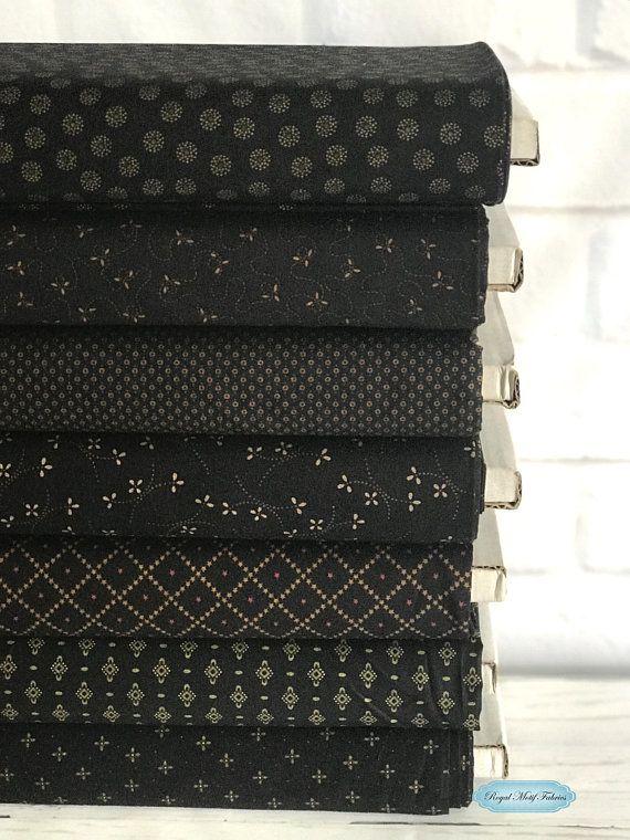 Henry Glass Fabrics Ebony Onyx Basics Bundle By Kim Diehl 7