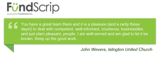 A wonderful testimonial from one of our Group Administrators - Thank You! #fundraisingideas