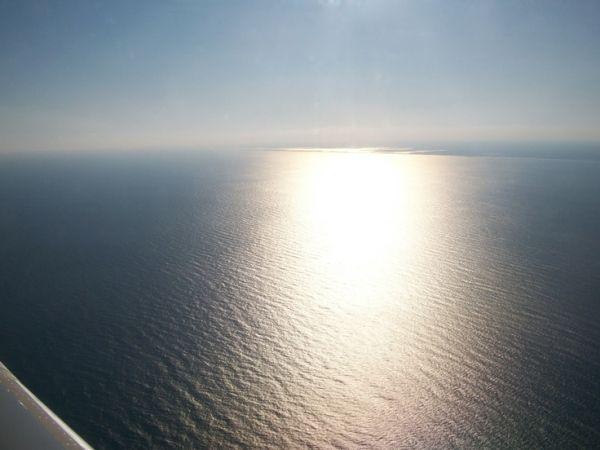sunset over atlantic ocean by lakisha
