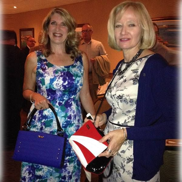 It was a great honor for Linda Westwell (CEO of Miche Canada) to present the Prime Minister of Canada's wife Mrs. Laureen Harper with the Petite Miche Bag. A special thanks to the Member of Parliament for Durham Region Mr. Erin O'Toole for arranging the evening.   Linda Westwell (CEO of Miche Canada) and Mrs. Laureen Harper (wife of Canadian Prime Minister Stephen Harper) *Miche Canada* #michecanada #michefashion #fashion #style #purses #handbags #accessories