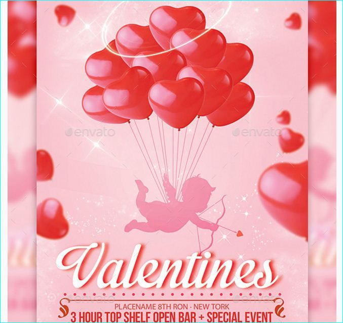 valentines day flyer ideas