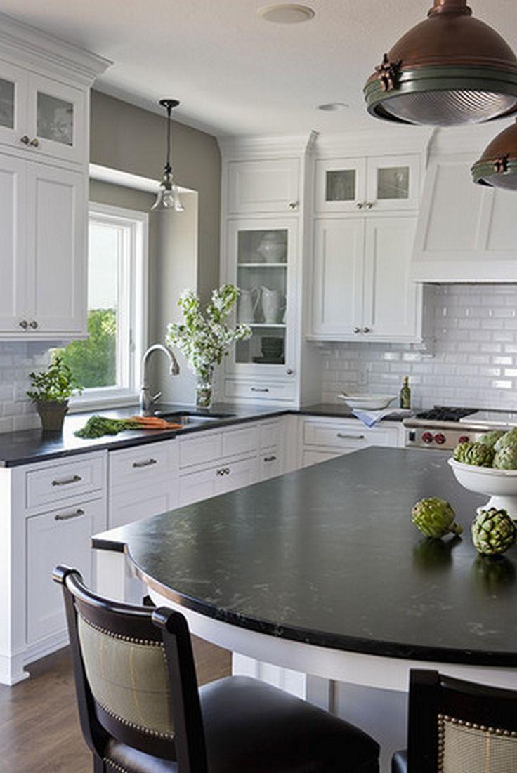 White Galaxy Granite Kitchen The 25 Best Ideas About Black Granite On Pinterest Black