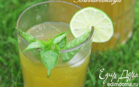 Базиликовый лимонад | Кулинарные рецепты от «Едим дома!»