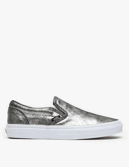 Vans | Classic Slip On in Metallic #vans #metallic #slipon #sneakers