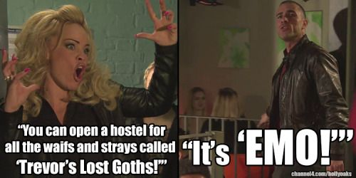 hollyoaks trevor and grace funny - Google Search