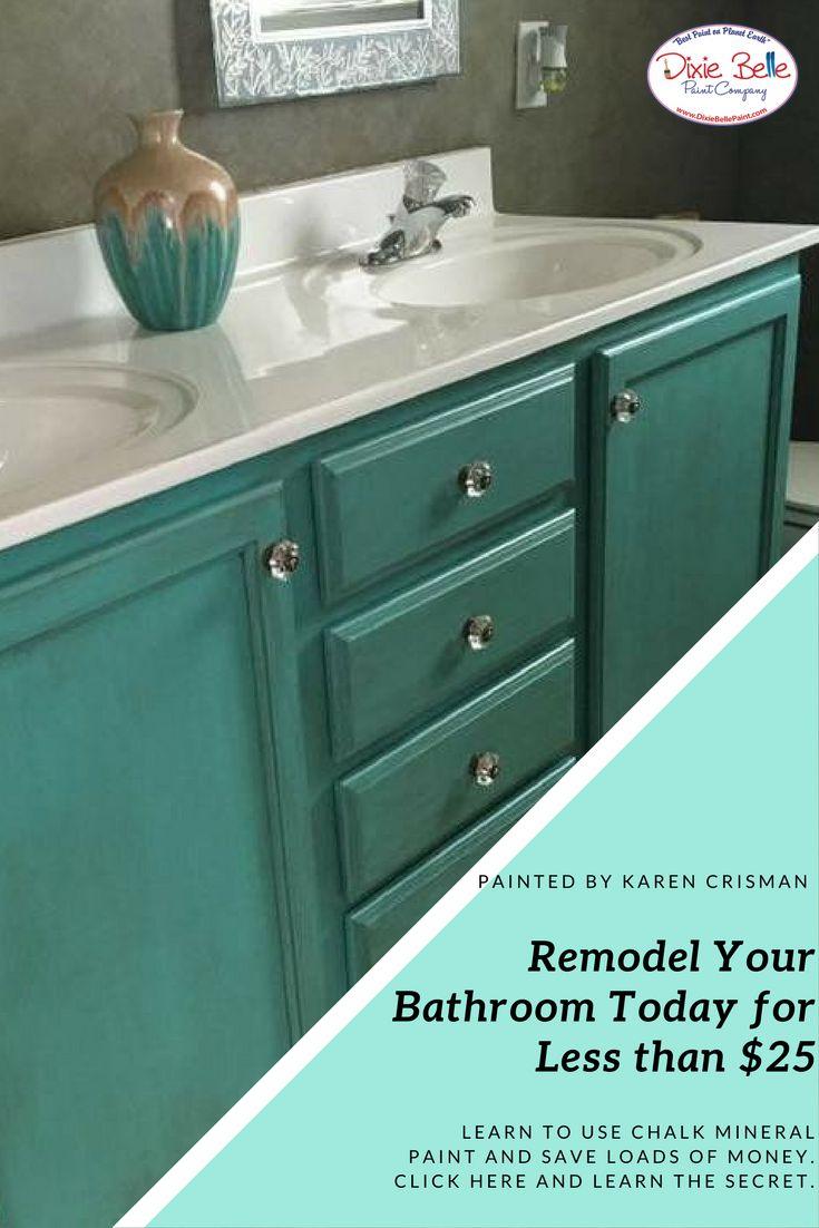 197 best Painting Kitchen & Bathroom Cabinets | Dixie Belle Paint ...