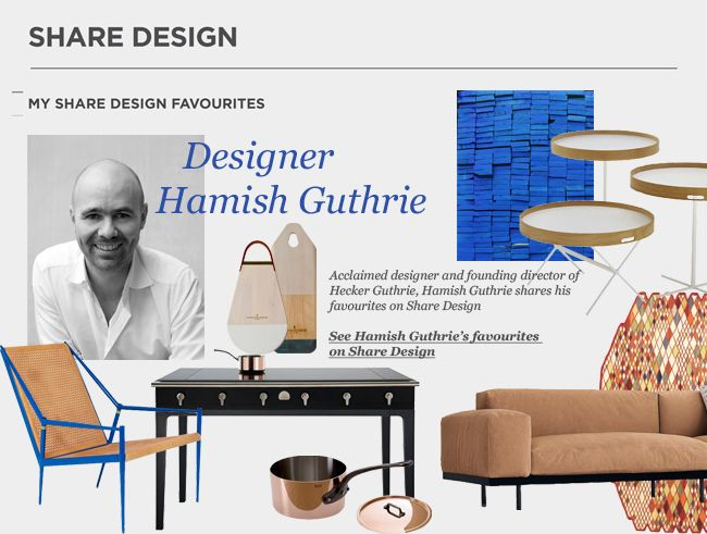 Hamish Guthrie Shares His Favourites