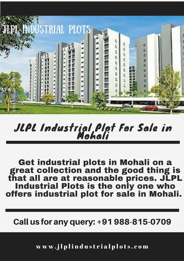 JLP Industrial Plots have a good #news for those who are #interested in #industrial #plot for #sale in #mohali. for more details visit our website: http://www.jlplindustrialplots.com/ or call us: 9888150709