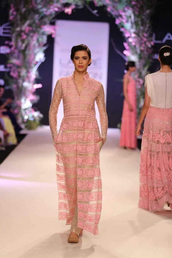 beautiful colour combination, subtle. The panels and detailing is too good. Manish Malhotra