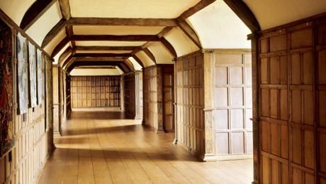 After restoration - The Long Gallery at Barrington Court is 40 paces long. © Andreas von Einsiedel