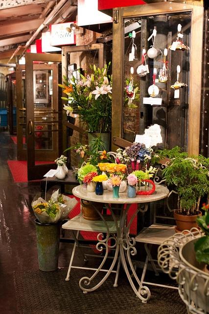 chelsea market hallway by mooshinindy, via Flickr