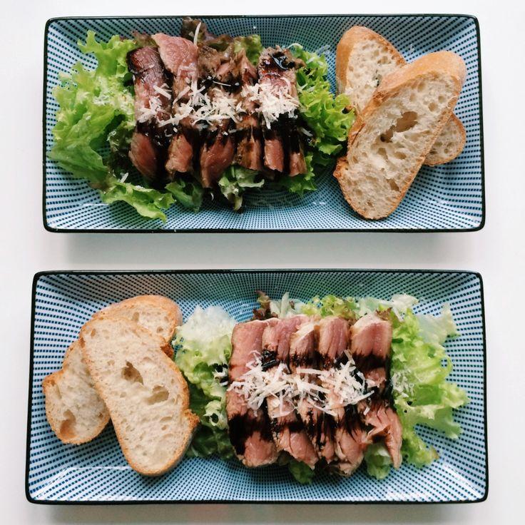 Tagliata di Manzo, het recept voor een Italiaanse klassieker vind je op de blog. Smakelijk eten alvast.