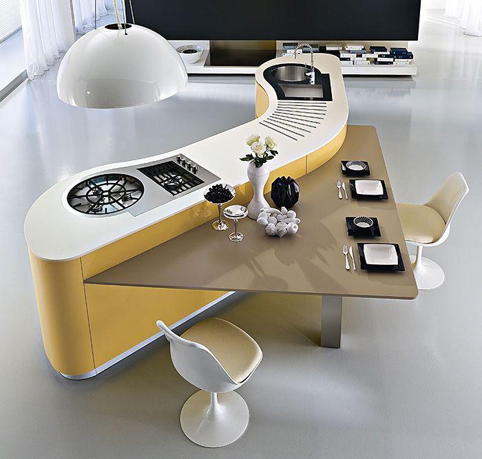 Gente, quem disse que beleza não se põe a mesa, ou melhor, na bancada? rsrs... Quando se trata de tecnologia e inovação, essas cozinhas nã...