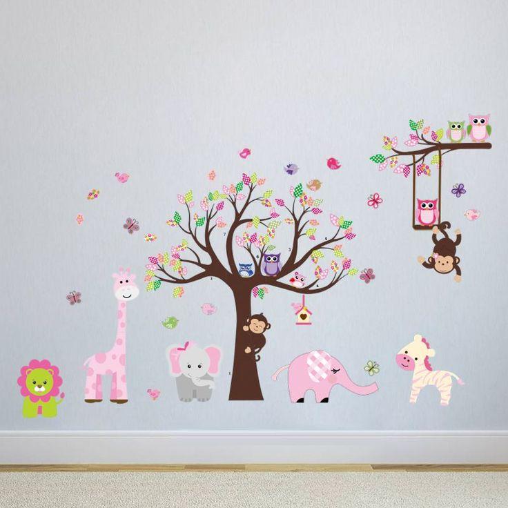 High Quality Baum Wandtattoo, Wandkunst, Wandaufkleber Aufkleber, Tier Wandabziehbilder, Dekorative  Aufkleber, Wandbild Wand, Wand Tattoos, Dekorierte Stühle, Enorm