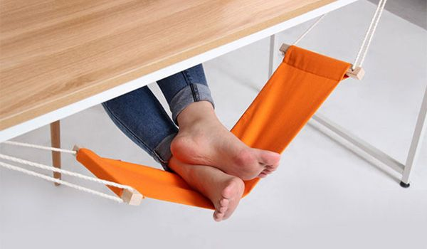 how many times did I wish for a feet hammock when I was working in an office?
