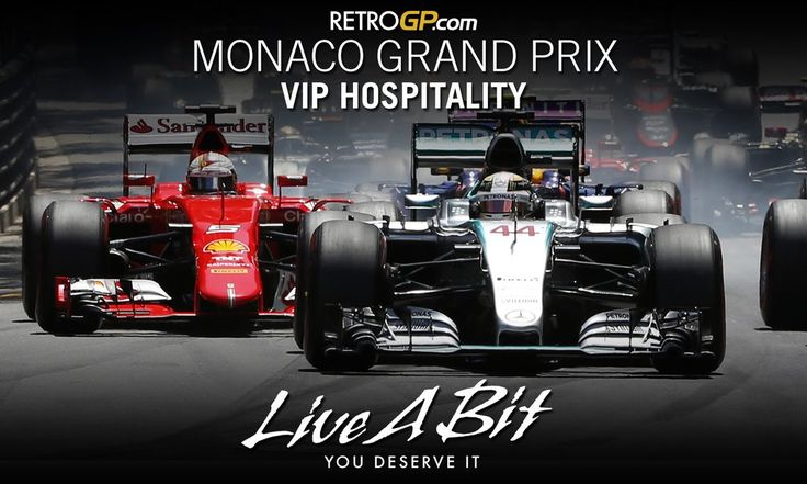 RetroGP.com VIP HOSPITALITY AT TRULY AMAZING PRICESBE QUICK Guest numbers are limited THE MOST GLAMOROUS MOTOR RACE IN THE WORLD.The Monaco Grand Prix is the