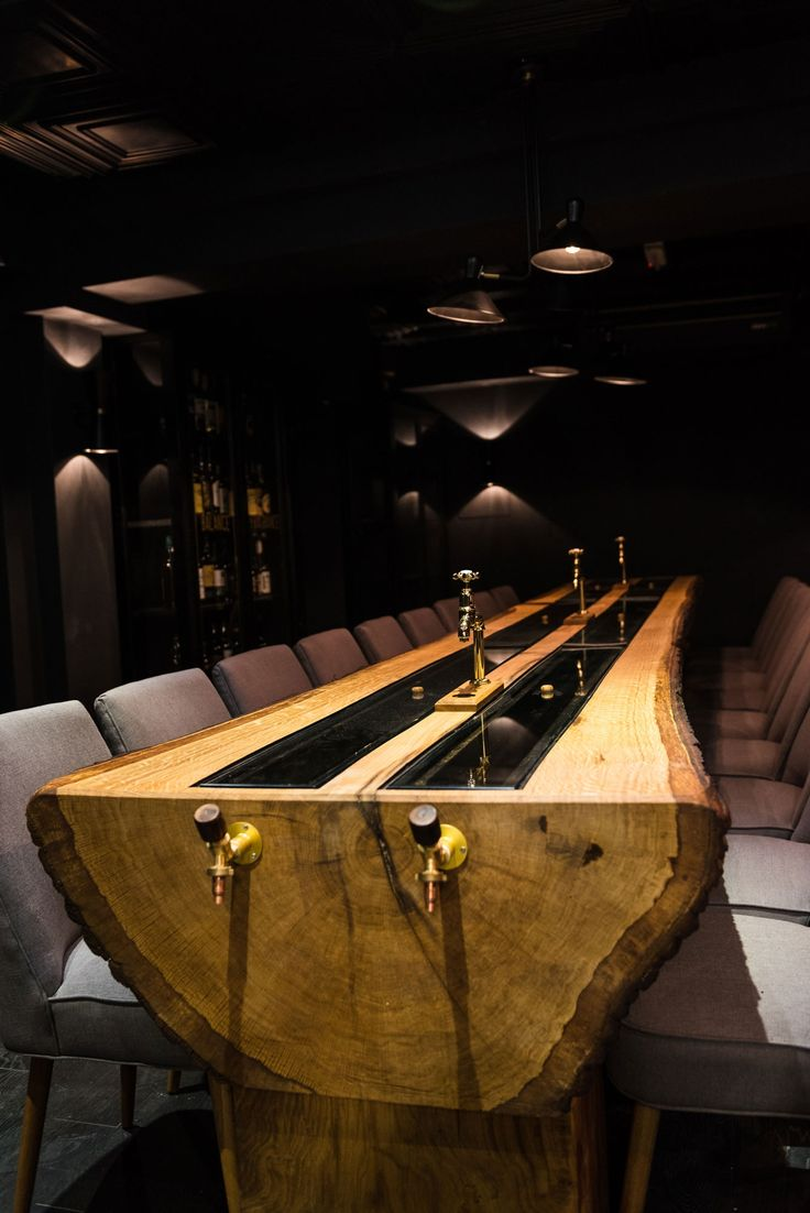 This Bar Is Serving Whisky From An 18 Foot Oak Tree