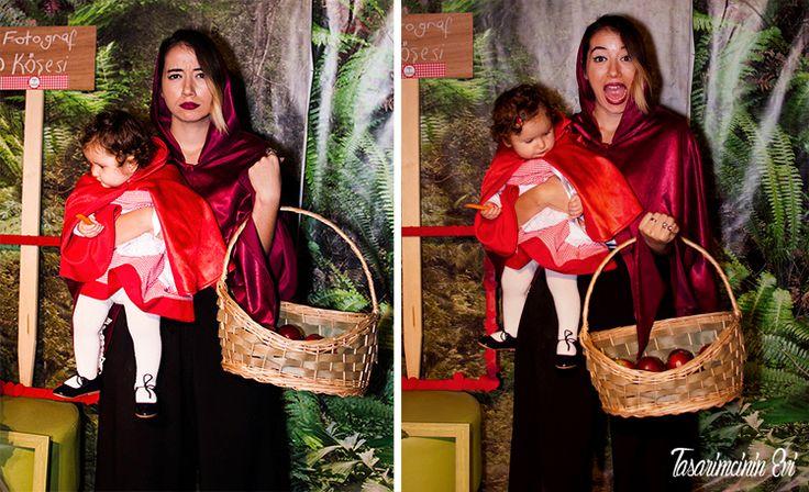 Doğum Günü Organizasyonu| Asya'nın Doğum Günü partisi #kırmızıbaşlıklıkız #littleRedRidingHood