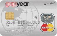 Gap year prepaid card