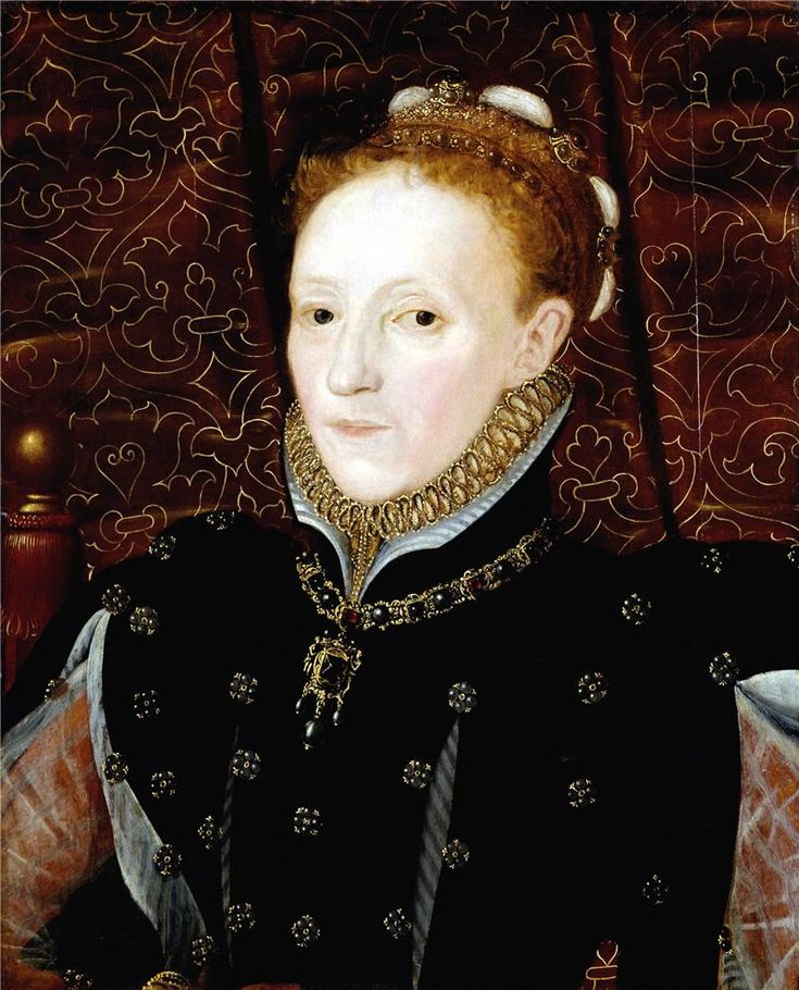 ЧАСТЬ 3. Династия Тюдоров.1558- 1603. Елизавета I. У нее было много фаворитов,однако,судя по всему,ни с кем из них она не перешла посл.грани в отношениях.Первым фаворитом был молодой Роберт Дадли,гр. Лестер.Он был красив собой,но не имел более никаких достоинств.Он был осыпан милостями и наградами, а кроме того Елизавета постоянно поддерживала в нем смутную надежду на брак.Однако Лестер умер в возр.58 лет,так и не дождавшись этого.