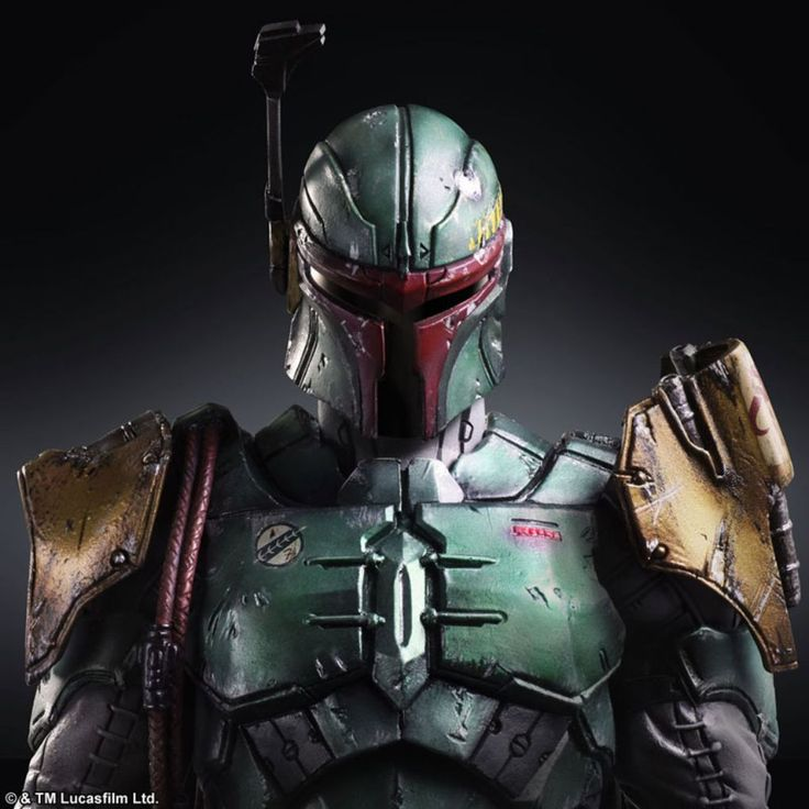 Star Wars Square Enix Villains: Darth Vader, Boba Fett ...