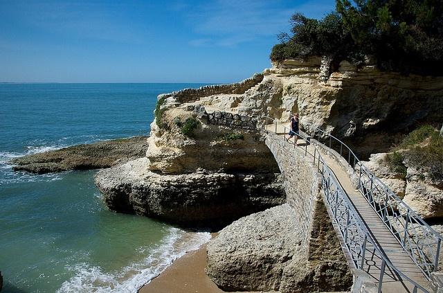 Sentier des Douaniers - sentier du littoral Saint Palais Sur Mer France I by P van Dijk, via Flickr
