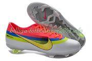 Billiga fotbollsskor Nike Mercurial Vapor IX CR FG vit rosa gul