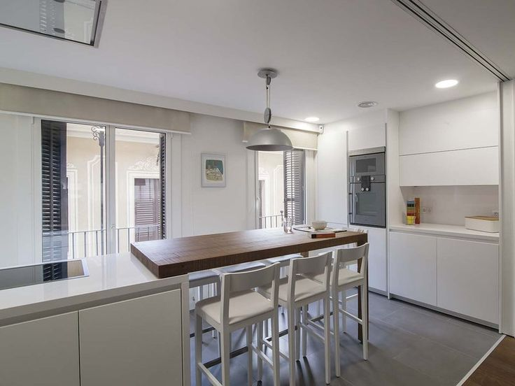 249 best cocinas images on pinterest house apartments for Una cocina moderna
