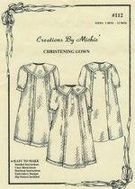 #112 Boy's Christening Gown