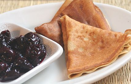 DL Buckwheat crepe recipe. i will only make these if i can't make it to sophie's in japantown. best dessert crepes ever.