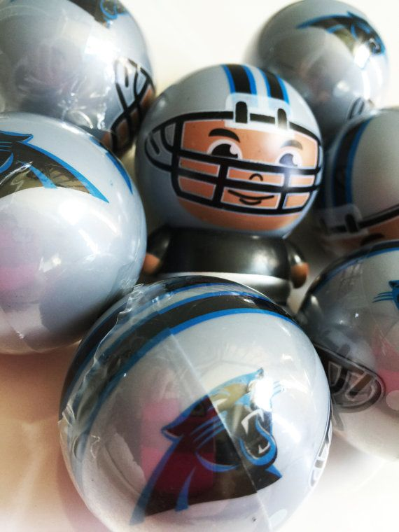 Carolina Panthers Football Team Bath Bomb with Surprise Football Player Inside! NFL Fan Party Idea - 8 oz Bath Fizz - North Carolina Team