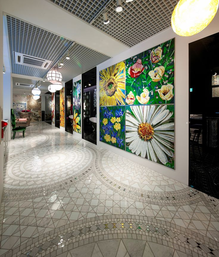 Sicis Showroom all around the world. #mosaic #architecture #interiordesign