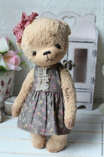 Катя.. - мишка,мишки тедди,мишка ручной работы,медвежонок,коллекционные медведи