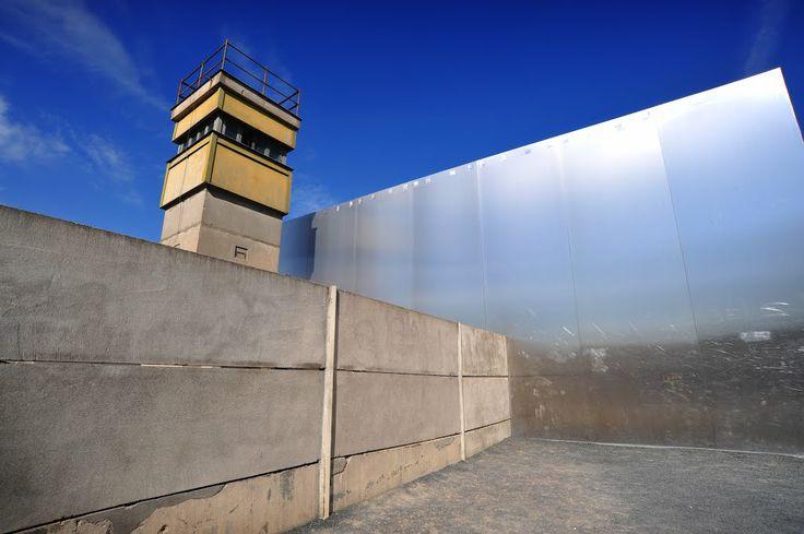 Berlin Wall Memorial, Bernauer Straße, Berlin, Germany.