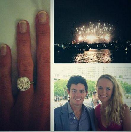 Rory McIlroy spent €150,000 on Caroline Wozniacki's engagement ring